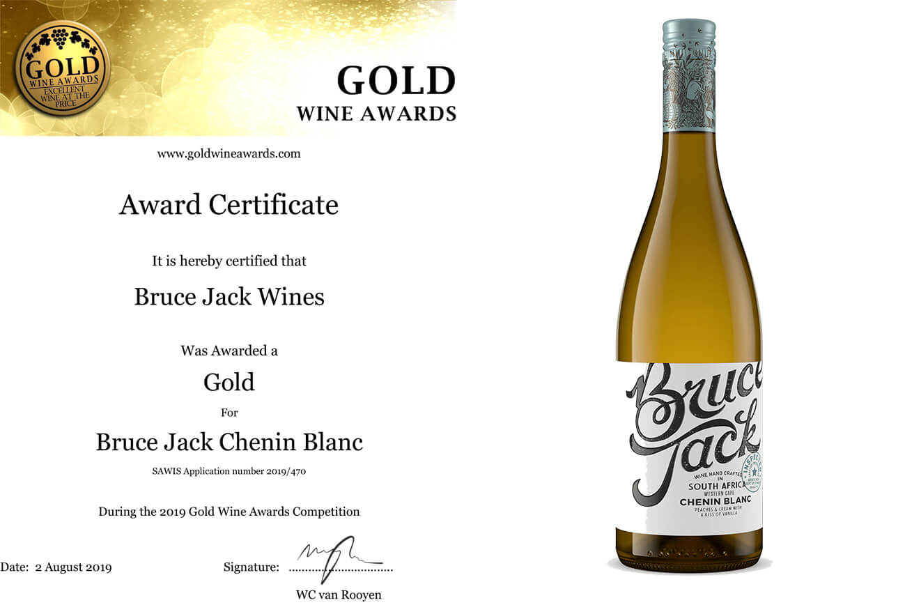 Gold Wine Awards-Chenin Blanc