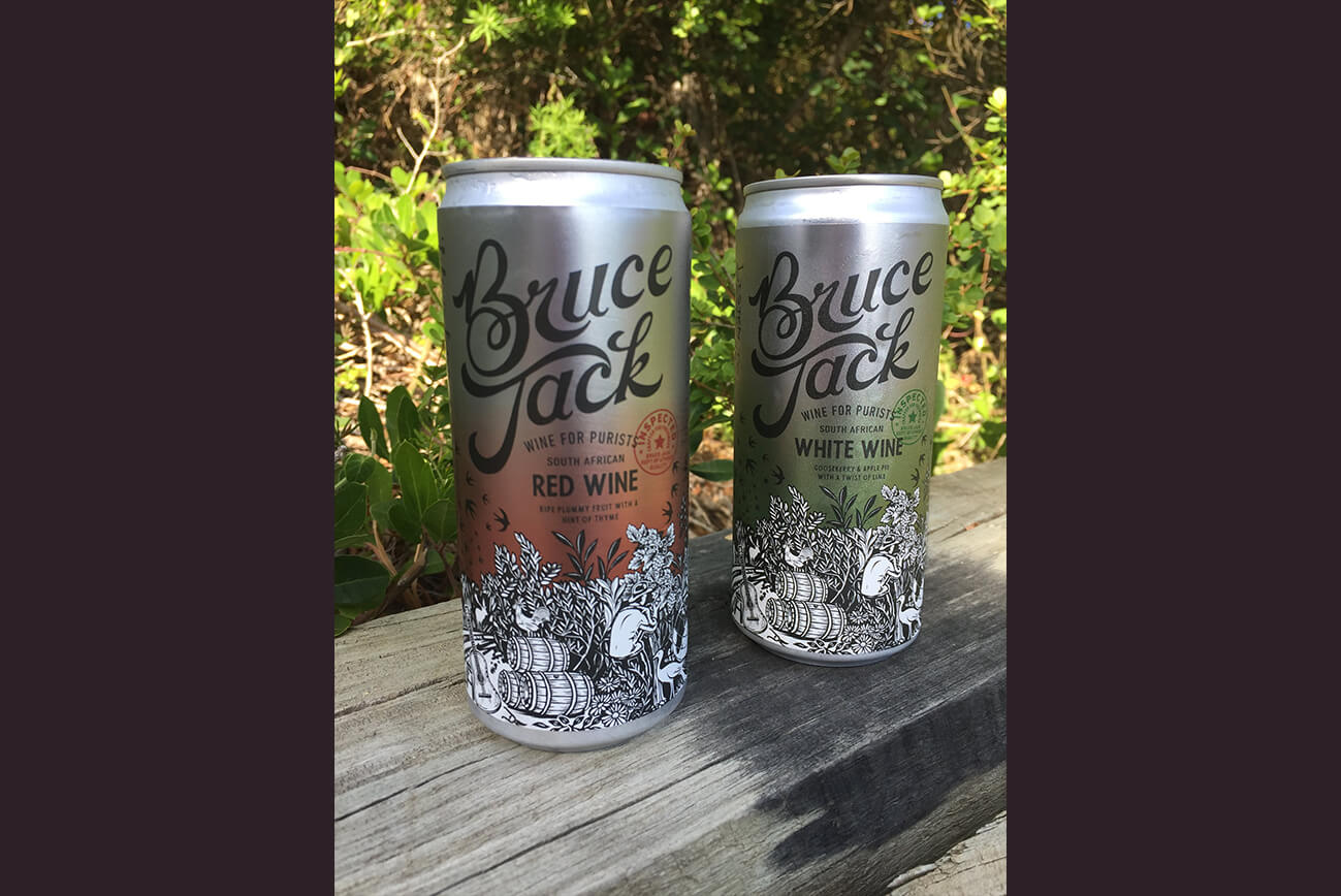 Bruce Jack Wine Cans